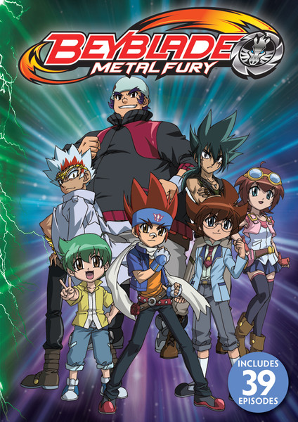 Beyblade Metal Fury DVD