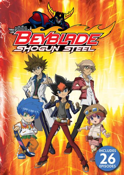 Beyblade Shogun Steel DVD