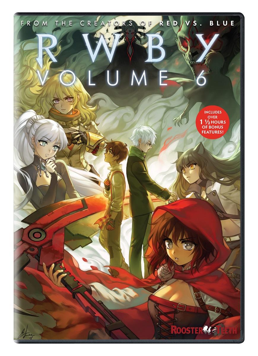 RWBY Volume 6 DVD