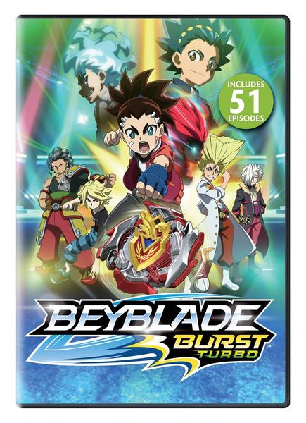 Beyblade Burst Turbo Season 3 DVD