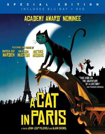 A Cat in Paris Blu-ray 767685277058