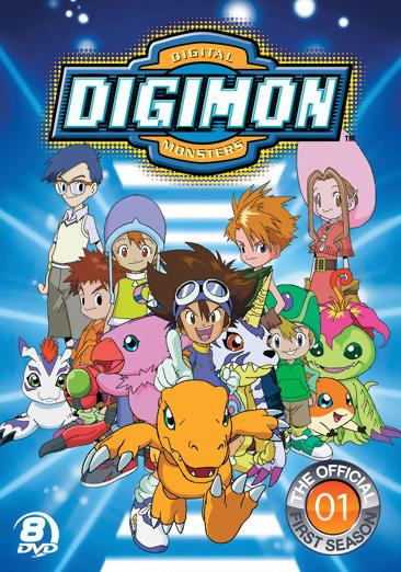 Digimon Season 1 Digimon Adventure DVD