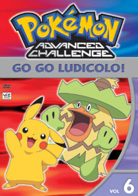 Pokemon Advanced Challenge DVD 6 782009234388