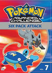 Pokemon Advanced Challenge DVD 7 782009234760
