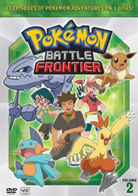 Pokemon Battle Frontier Box Set 2 DVD 782009238805