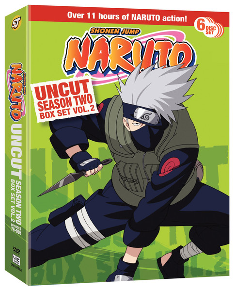 Naruto Season 2 Box Set 2 DVD Uncut
