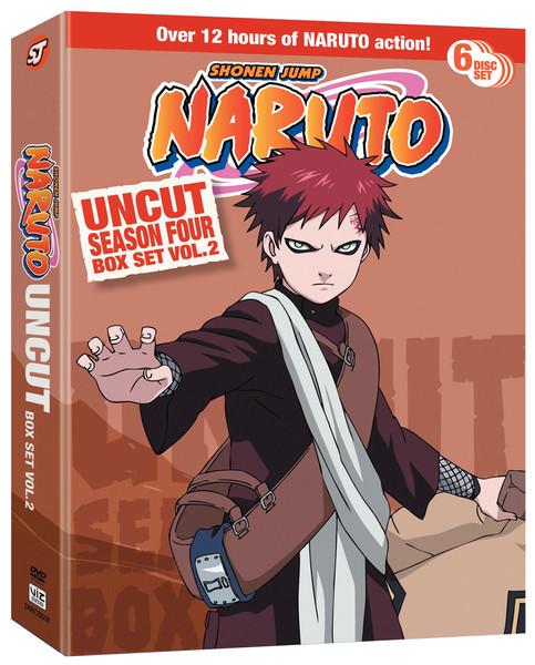 Naruto uncut box set 3 : Queen bedding set