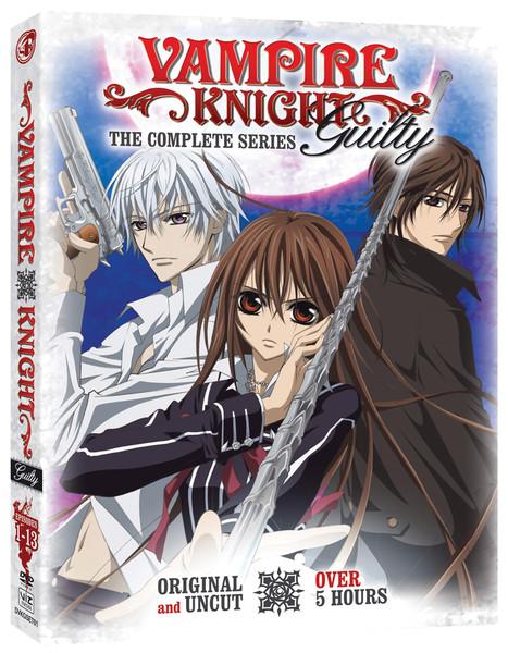 Vampire Knight Season 2 Guilty DVD