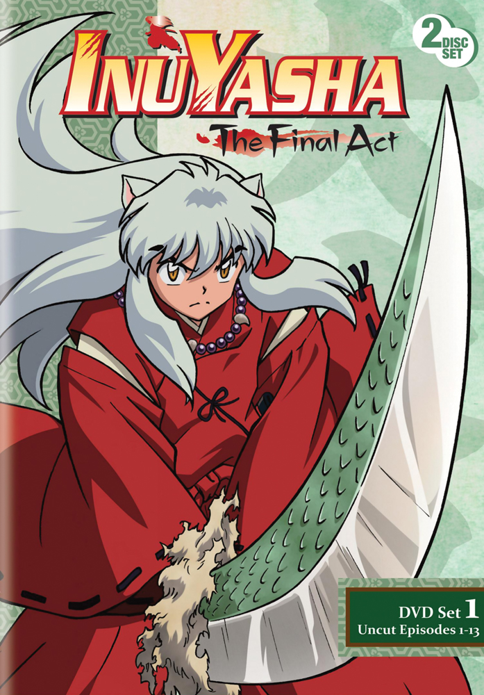 Inu Yasha The Final Act Set 1 DVD 782009241706