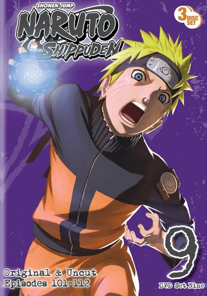 Naruto Shippuden Set 9 DVD Uncut