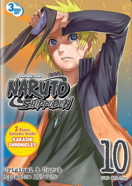 Naruto Shippuden Set 10 DVD Uncut