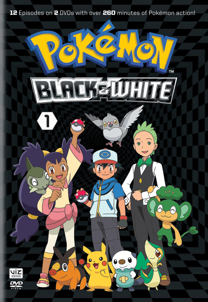 Pokemon Black and White Set 1 DVD 782009242277