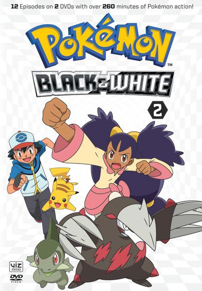 Pokemon Black And White Set 2 Dvd