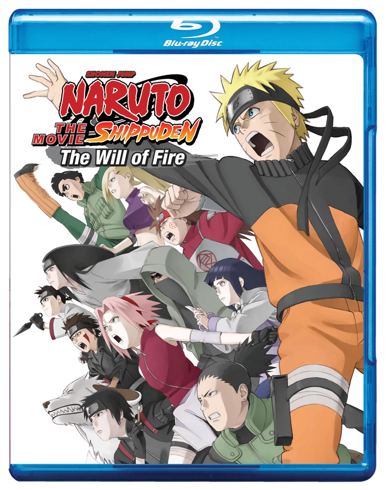 Naruto Shippuden Movie 3 The Will of Fire Blu-ray 782009242321