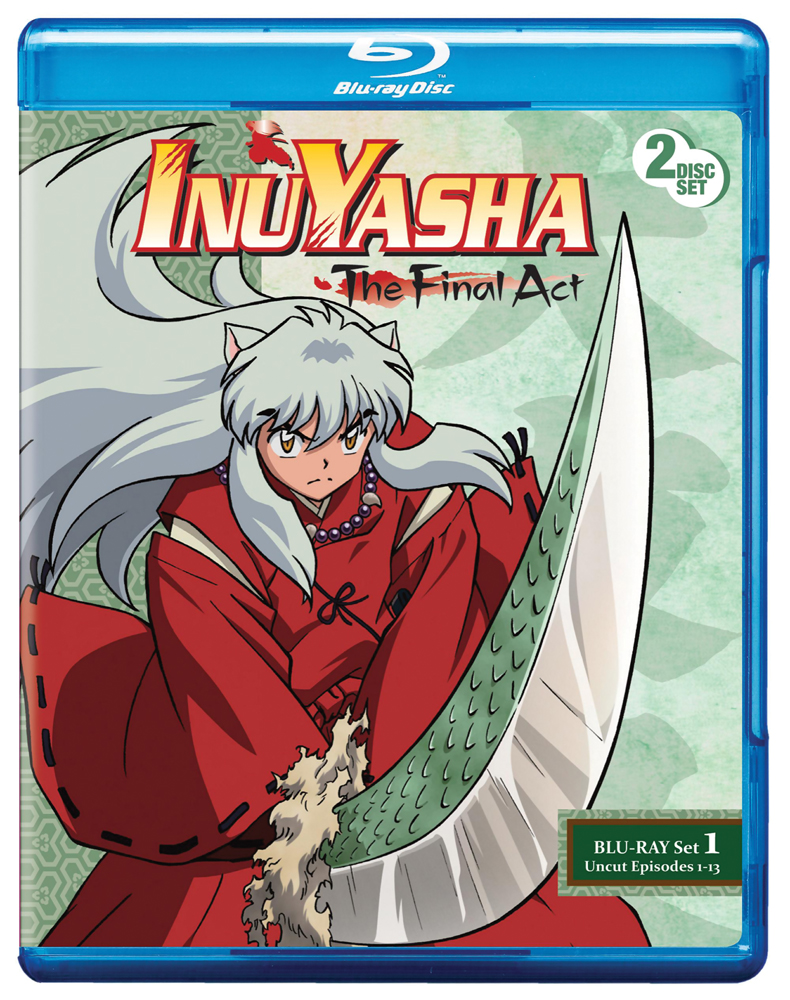 Inu Yasha: The Final Act Set 1 Blu-ray 782009242338