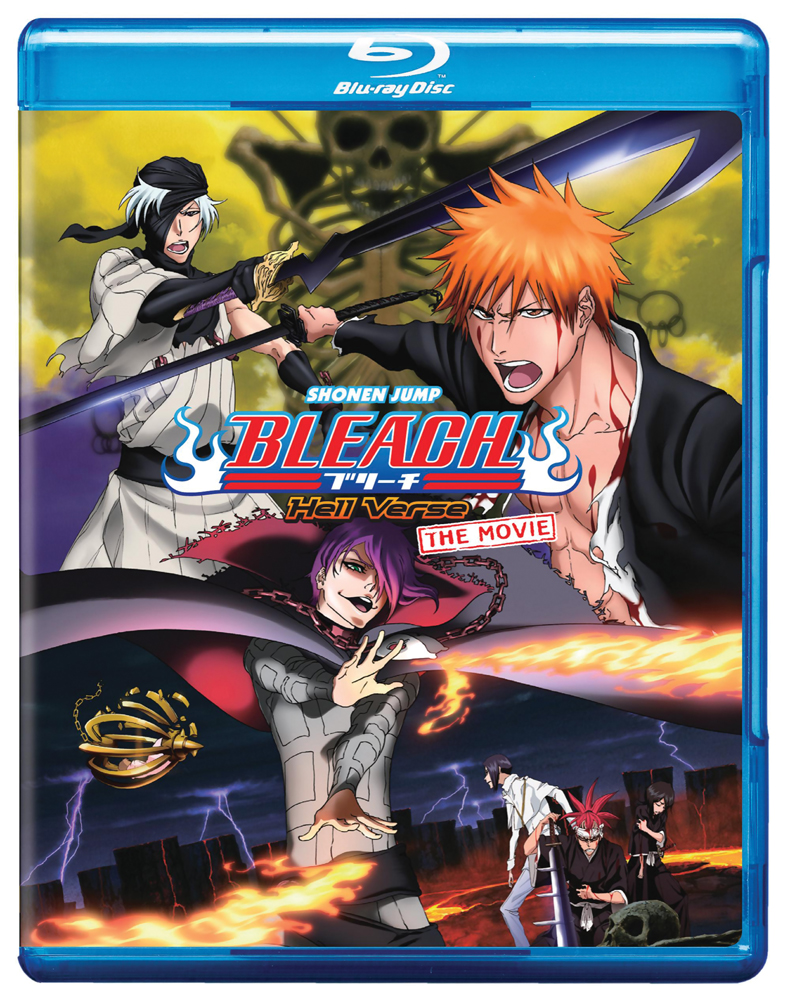 Bleach Movie 4: Hell Verse Blu-ray 782009242369