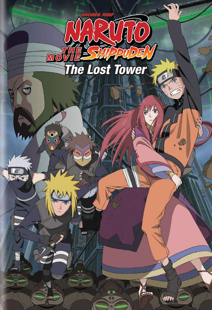 Naruto Shippuden Movie 4 The Lost Tower DVD 782009242710