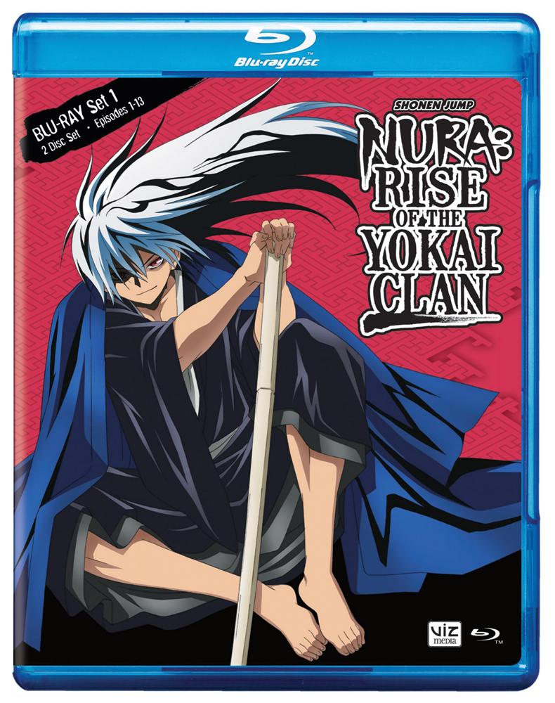Nura Rise of the Yokai Clan Set 1 Blu-ray 782009242741
