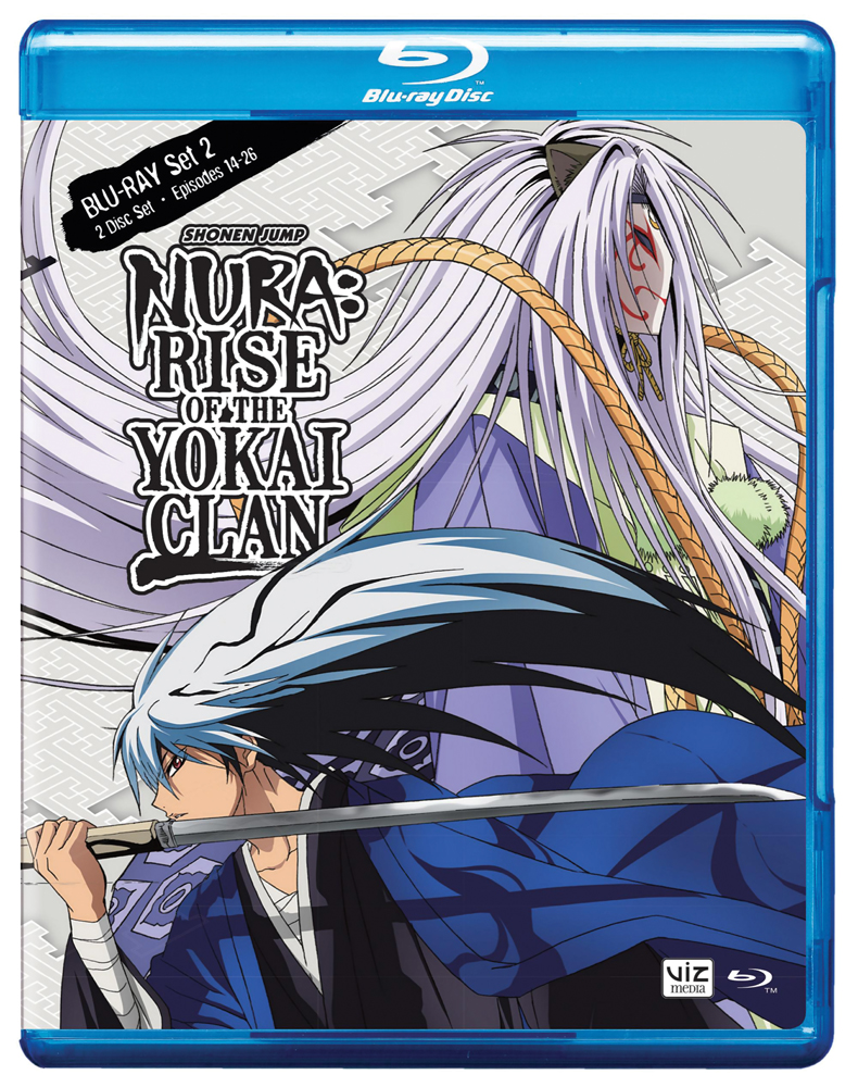 Nura Rise of the Yokai Clan Set 2 Blu-ray 782009242765