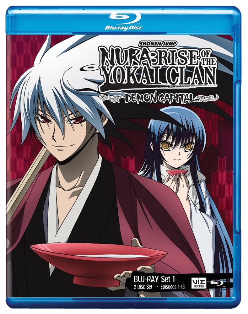Nura Rise of the Yokai Clan Demon Capital Set 1 Blu-ray