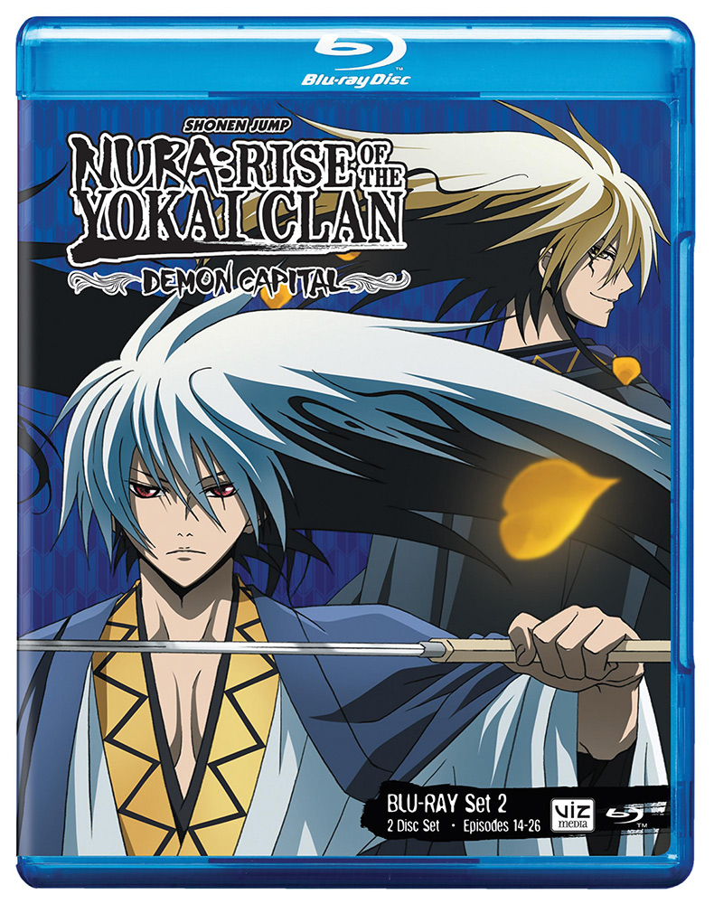 Nura Rise of the Yokai Clan Demon Capital Set 2 Blu-ray 782009242802
