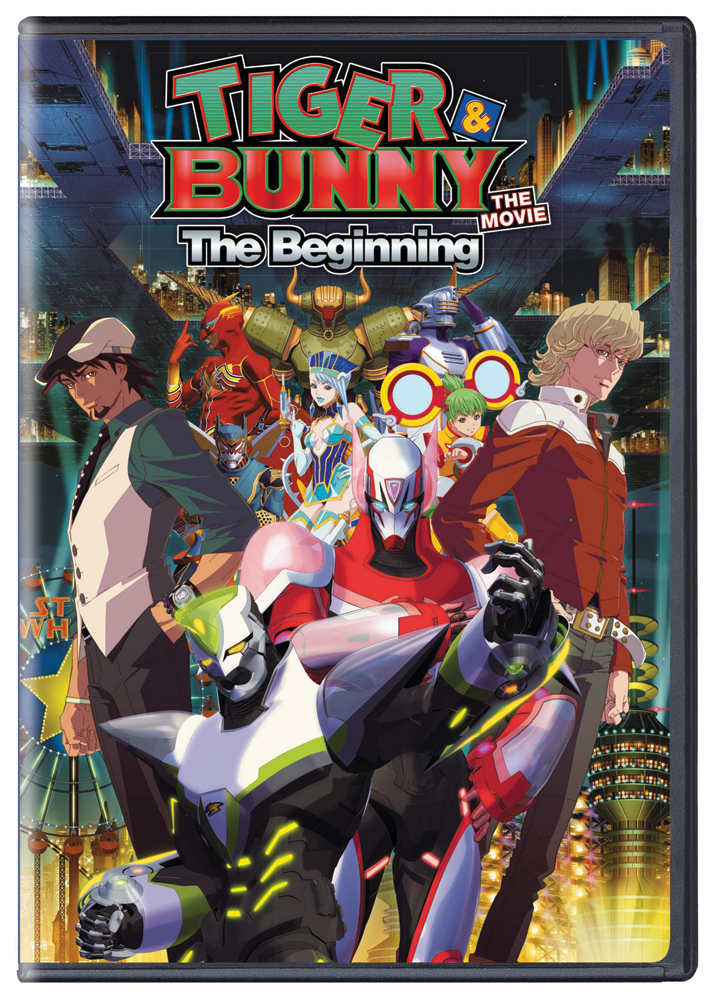Tiger & Bunny the Movie The Beginning DVD 782009242819