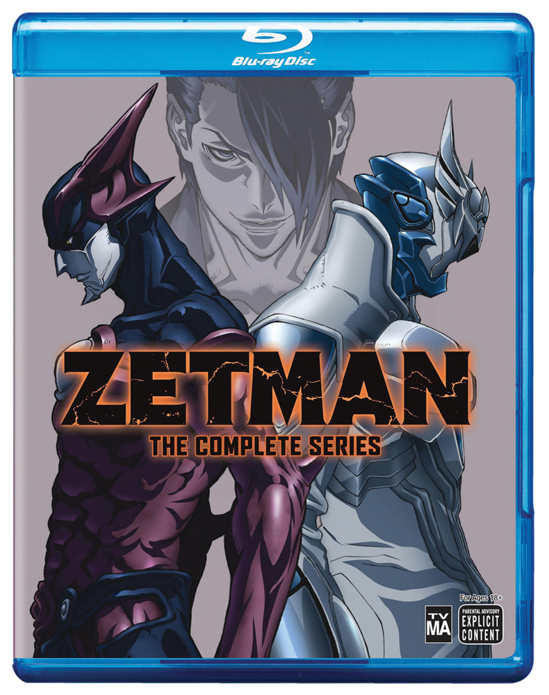 Zetman Complete Series Blu-ray 782009242840