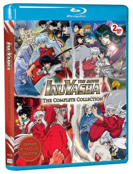 Inu Yasha Movies Complete Collection Blu-ray