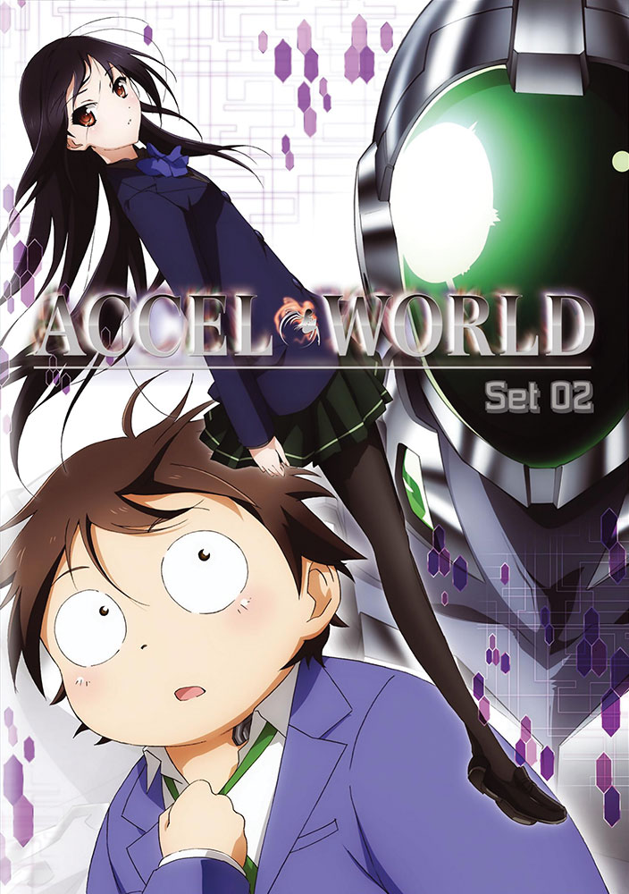 Accel World Set 2 DVD 782009242925