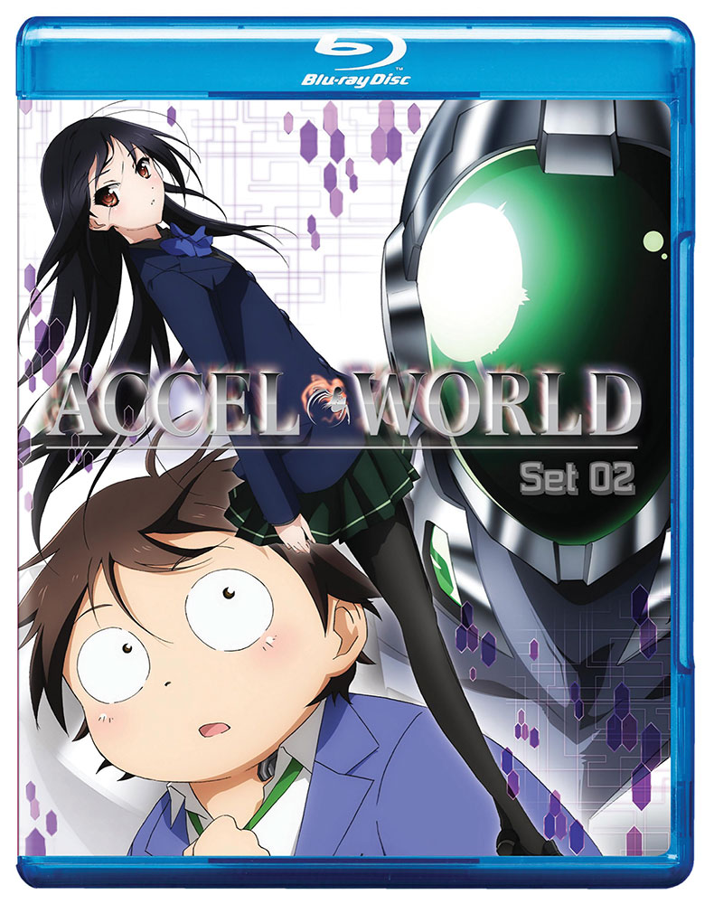 Accel World Set 2 Blu-ray 782009242932