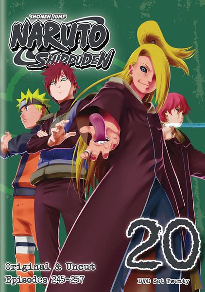 Naruto Shippuden Set 20 DVD Uncut