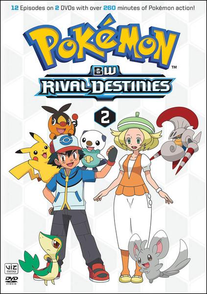 pokemon black and white rival destinies set 2 dvd