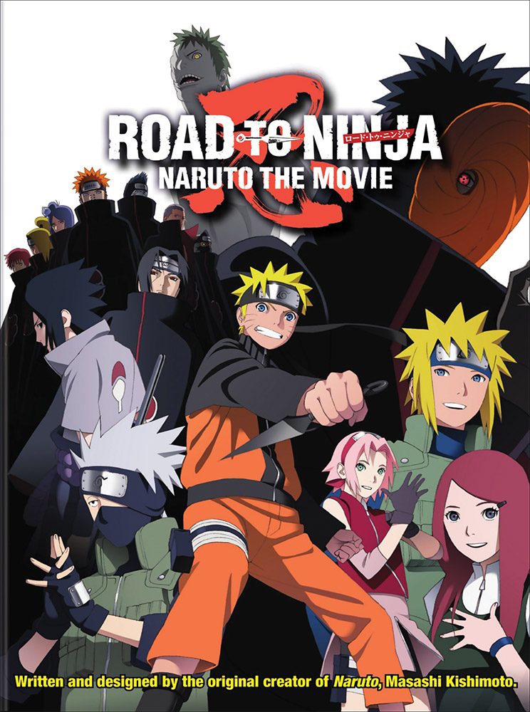 Naruto Shippuden Movie 6 Road to Ninja DVD 782009243083