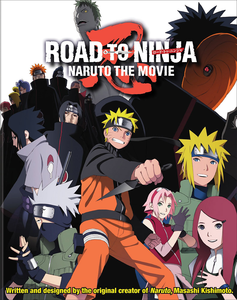 Naruto Shippuden Movie 6 Road to Ninja Blu-ray/DVD 782009243090