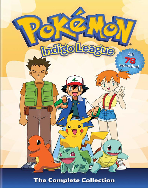 Pokemon Season 1: Indigo League Complete Collection DVD