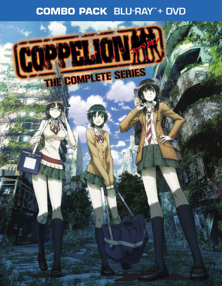 Coppelion Complete Series Blu-ray/DVD 782009243427