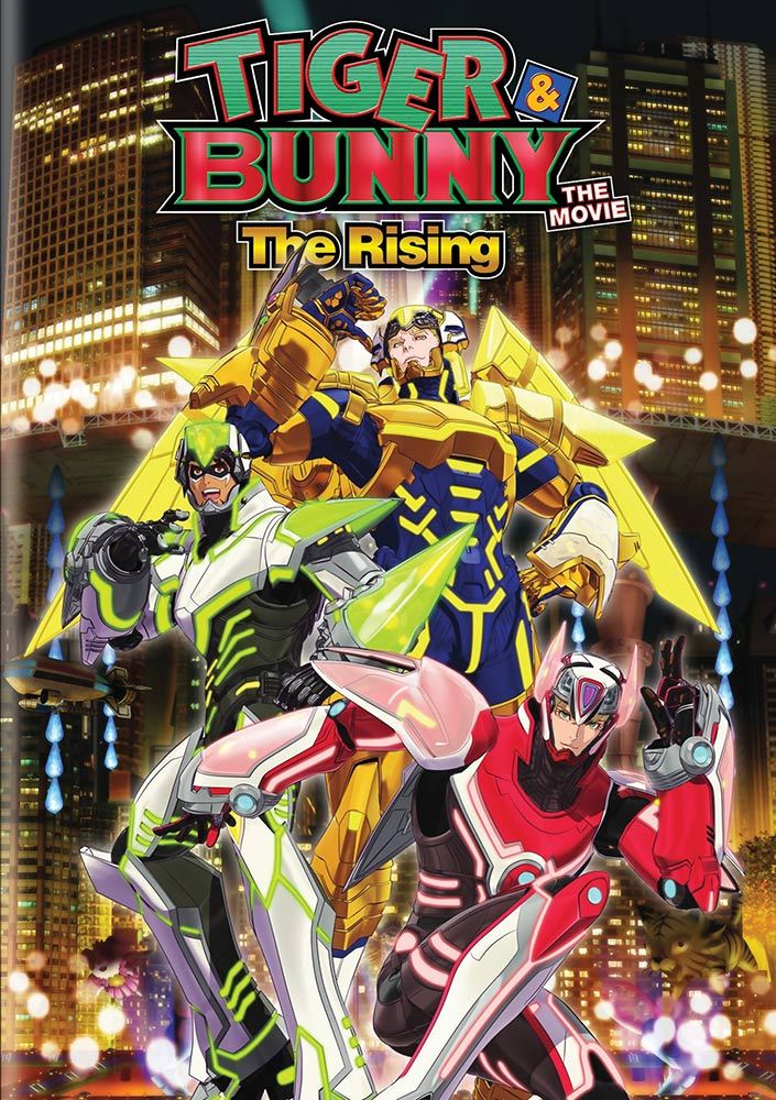 Tiger & Bunny the Movie 2 The Rising DVD 782009243441