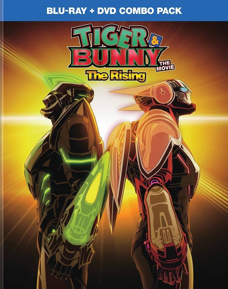 Tiger & Bunny the Movie 2 The Rising Blu-ray/DVD 782009243458