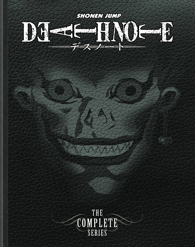 Death Note Complete Series DVD 782009243595