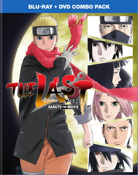 The Last Naruto the Movie Blu-ray/DVD