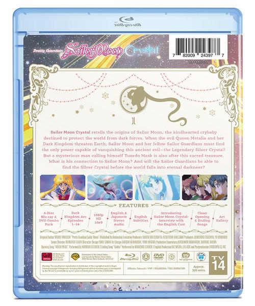 Sailor Moon Crystal Set 1 Limited Edition Blu-ray/DVD