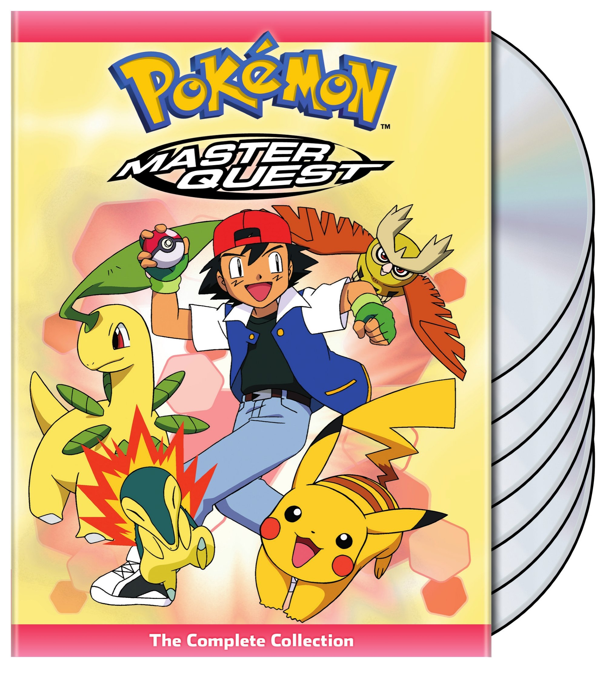 Pokemon Master Quest DVD 782009243984