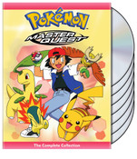 Pokemon Master Quest DVD