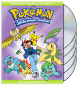 Pokemon Johto League Champions DVD