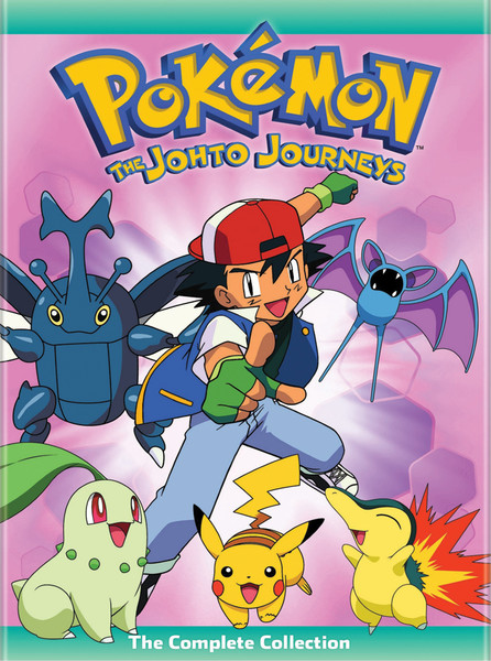 Pokemon Season 3 Johto Journeys Dvd