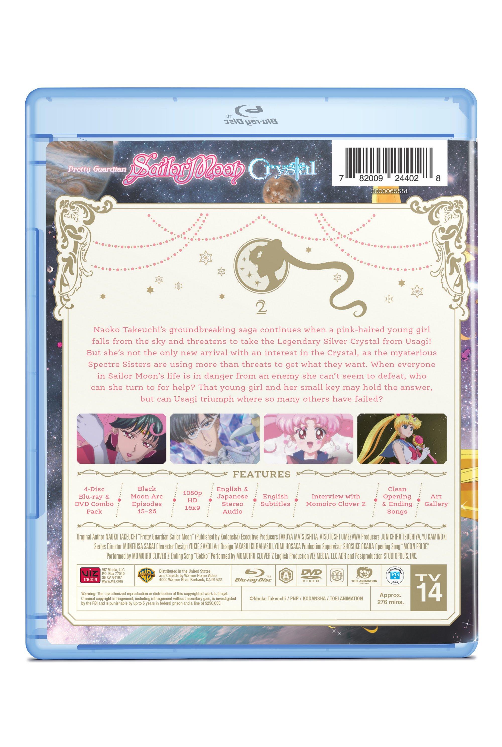 Sailor Moon Crystal Set 2 Blu-ray/DVD