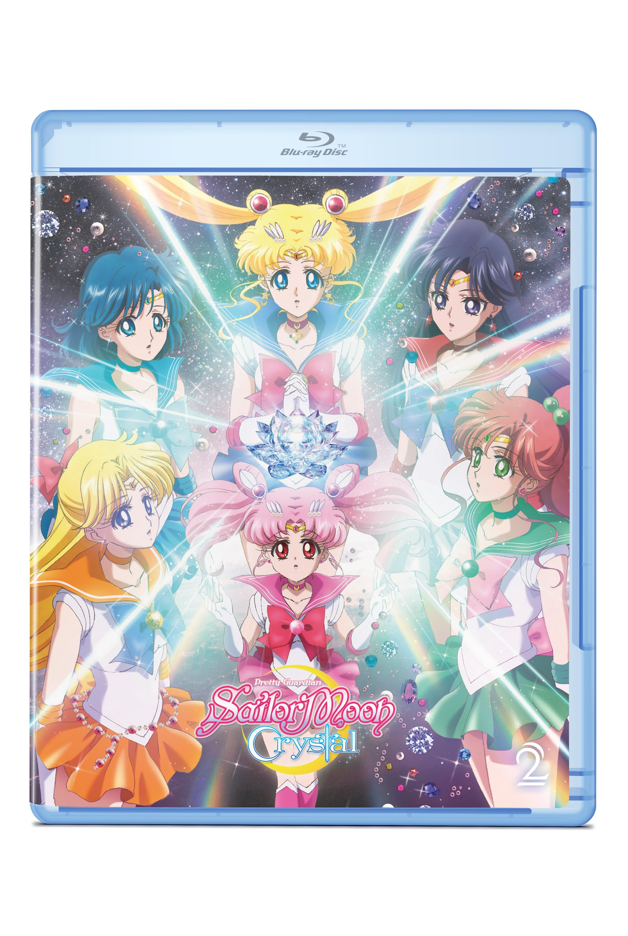 Sailor Moon Crystal Set 2 Blu-ray/DVD 782009244028