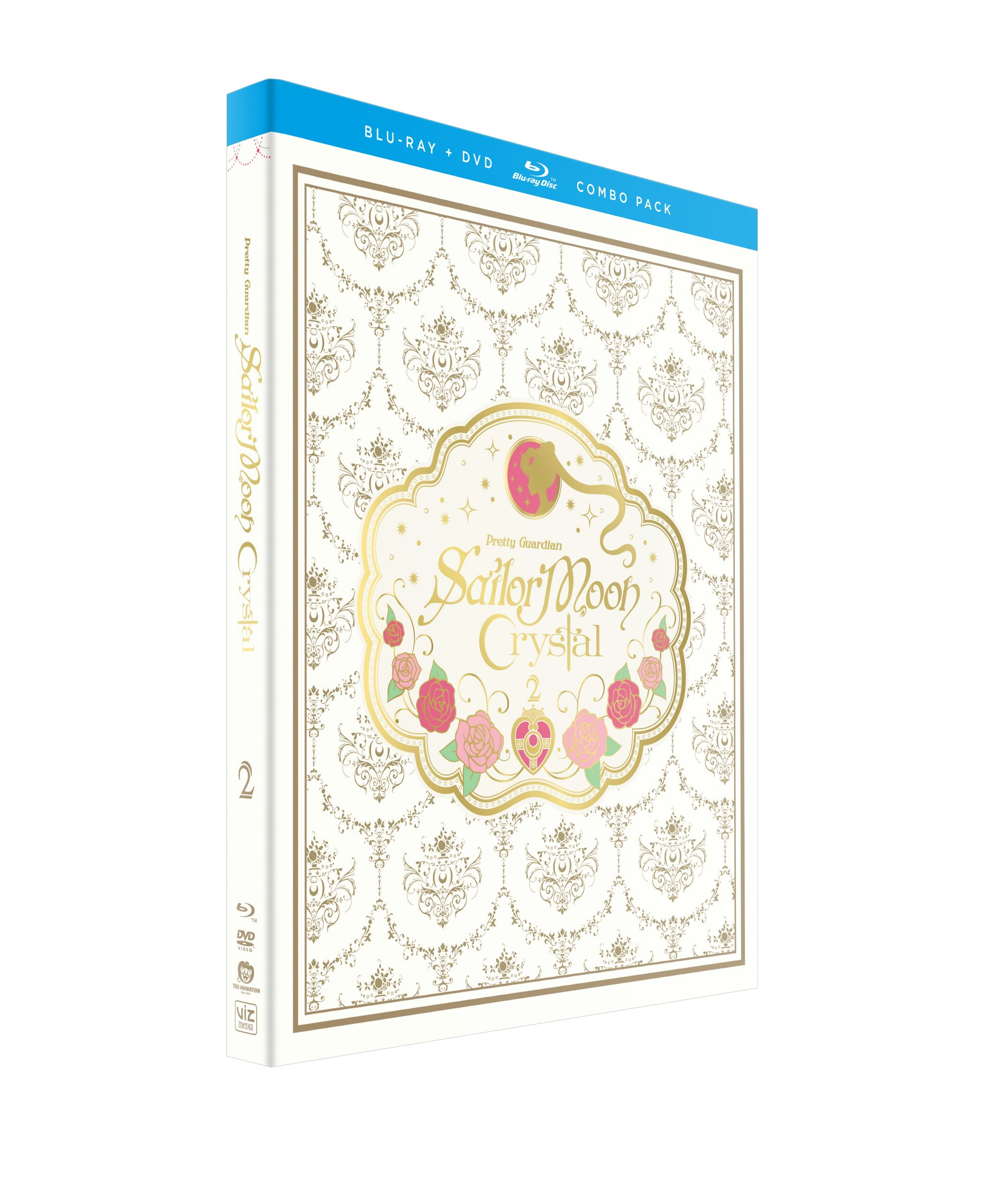 Sailor Moon Crystal Set 2 Limited Edition Blu-ray/DVD + GWP