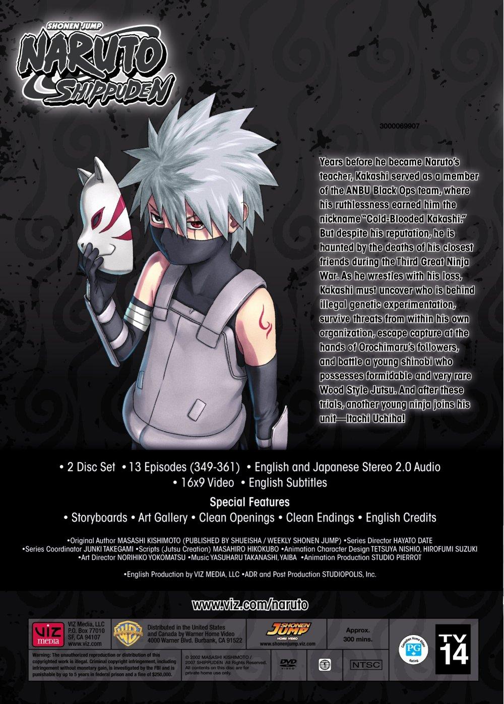 Naruto Shippuden DVD Set 28 Uncut
