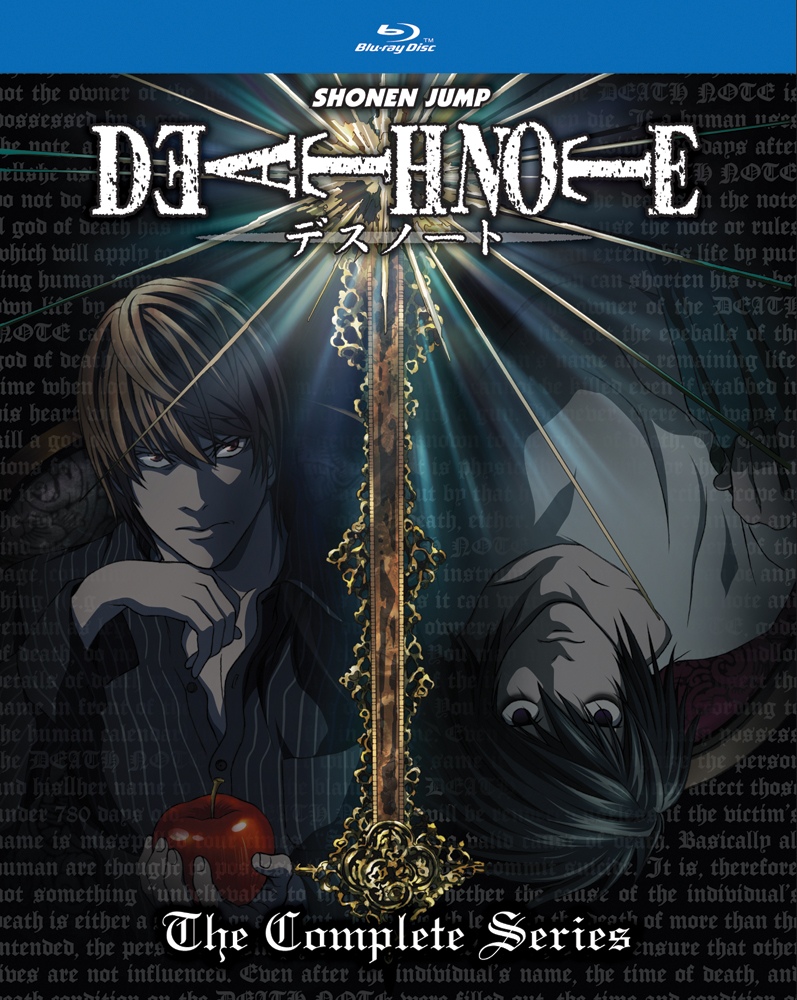 Death Note Complete Series Blu-ray 782009244110